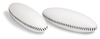 Robusto Leather Toning Weights 1000g White